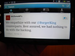 Flossy Burger King Twitter Site Mcdonalds Didnt Do Byrabidscottsman Burger King Twitter Site Mcdonalds Didnt Do Flickr Burger King Twitter Ny Burger King Twitter Uk