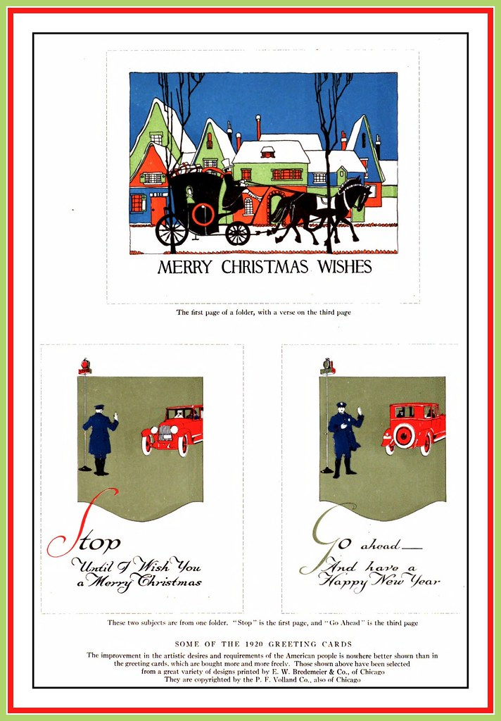 1920 OCT Christmas Card Layout carlylehold Flickr