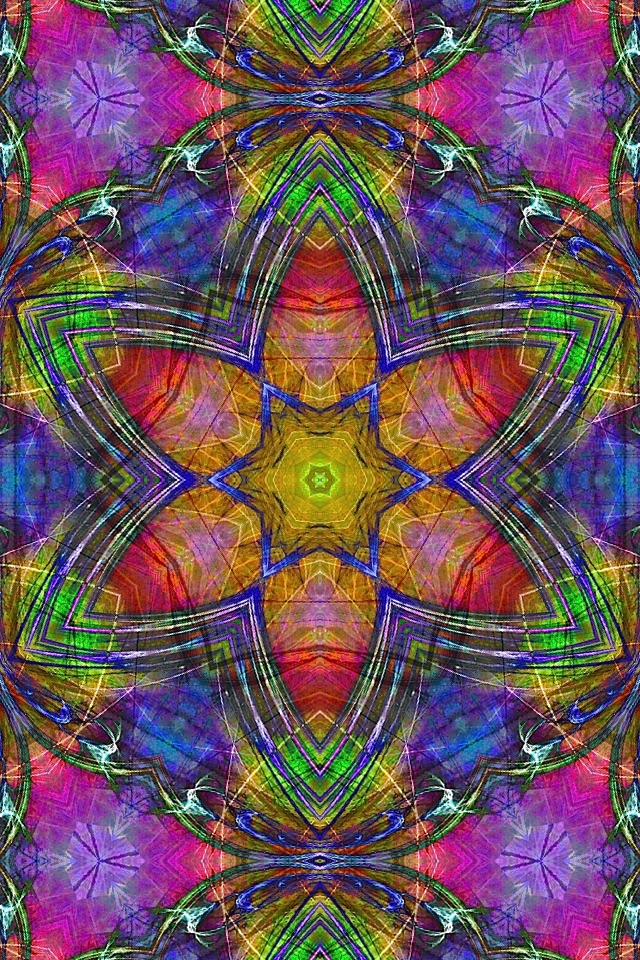 New Iphone Wallpaper Hippy Dippy Kaleidoscope 640x960 115319d3 Iphone 4