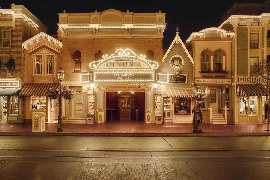 Disney 3d Wallpapers Free Disneyland Main Street Cinema Website Blog Facebook