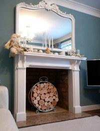 Decorative logs, feature fireplace | Decorative logs ...