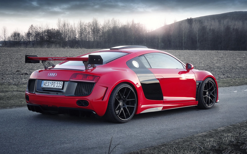 Complete Black Wallpaper Prior Design Pd Gt850 Widebody Aero Kit For The Audi R8