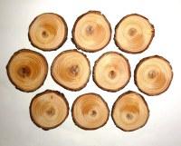 10 pieces Rustic Wood Slices Wedding - DIY Craft wood art ...