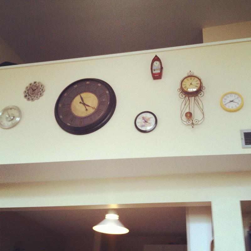 Clock Wall!