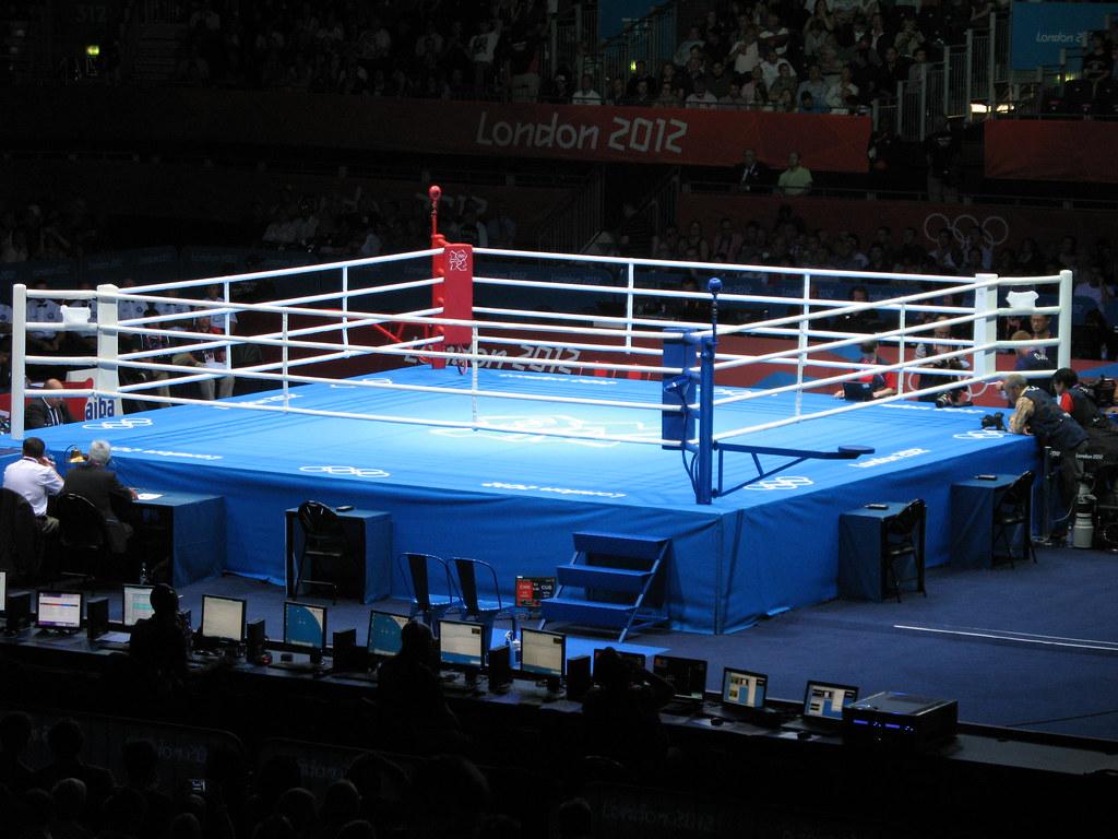 3d Kickboxing Wallpaper London 2012 Excel Boxing Ring Robert Hewitt Flickr