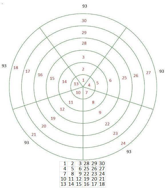 diagram of rose