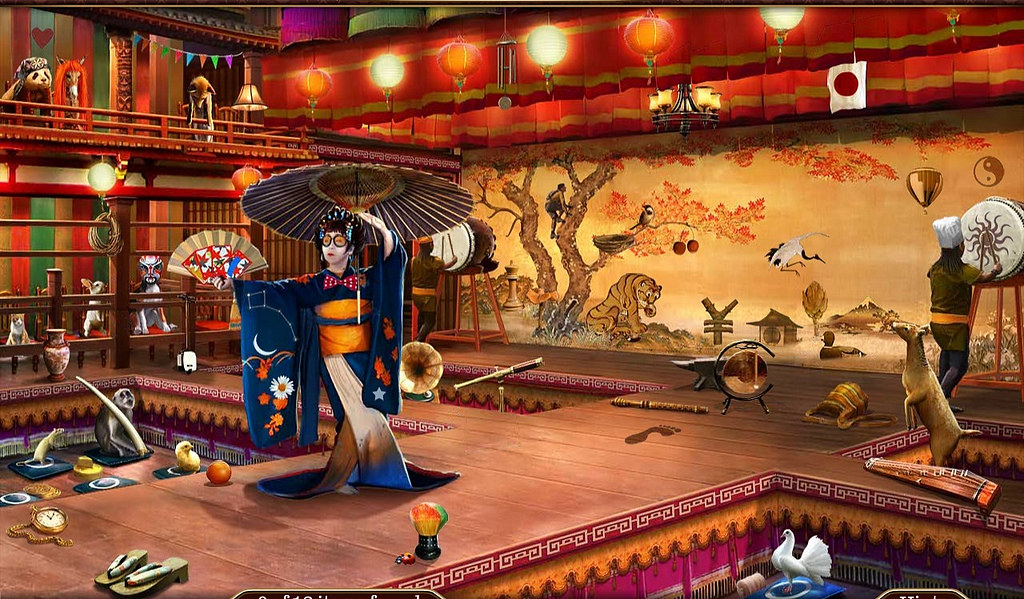 New 3d Wallpaper Chapter 49 4 Kabuki Theater Dancelilsister Flickr