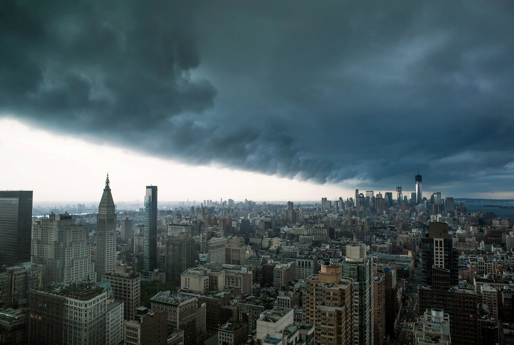 Mobile Hd Wallpaper 3d Extreme Storm Manhattan Nyc Saturday S Sept 8th 2012