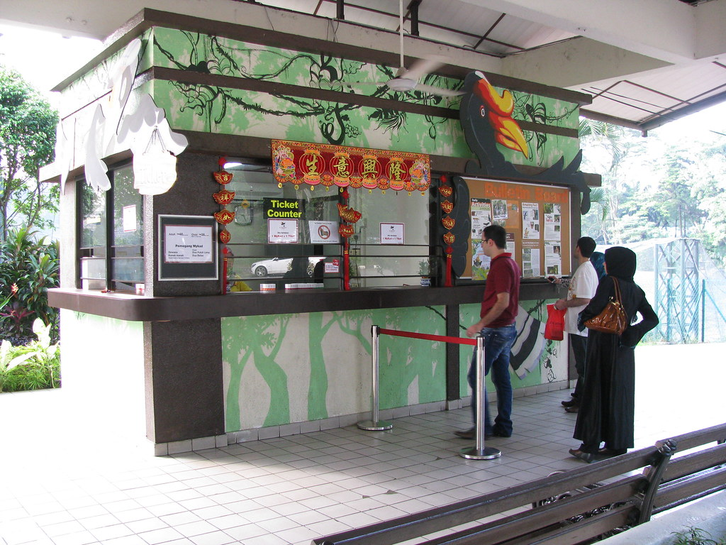 Entry7 Kl Bird Park Ticket Counter So It Was With A Lump In My