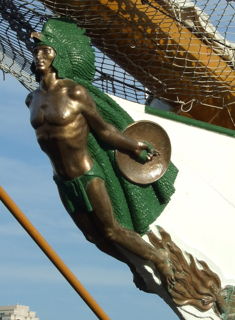 3d New Years Wallpaper Images Arm Cuauhtemoc Mexican Tall Ship Figurehead Www