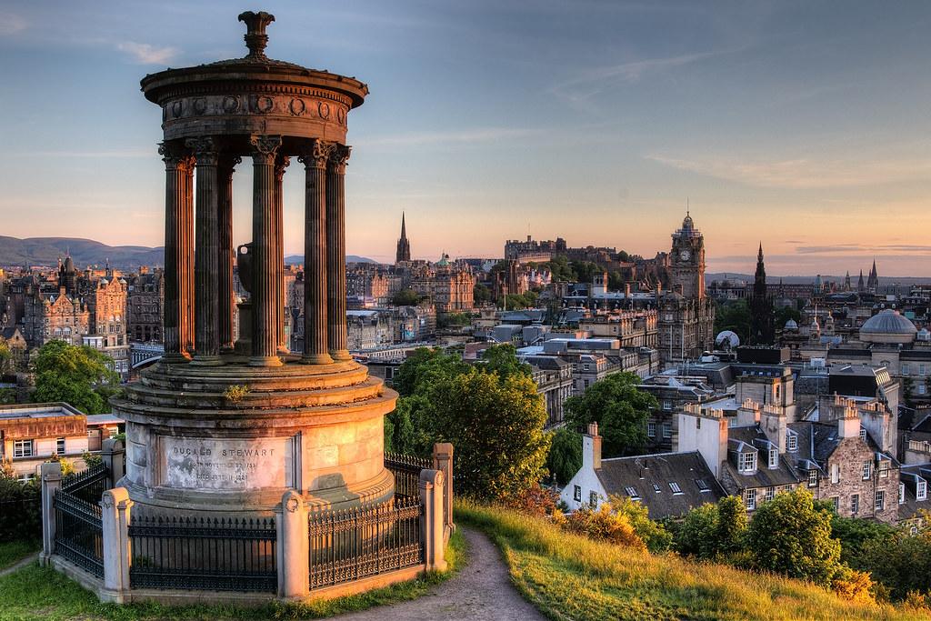Bing 3d Wallpapers Dugald Stewart Monument Calton Hill Edinburgh I Went