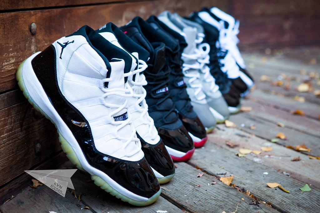 Hd Air Jordan Wallpaper Nike Air Jordan Xi Collection K V N Flickr