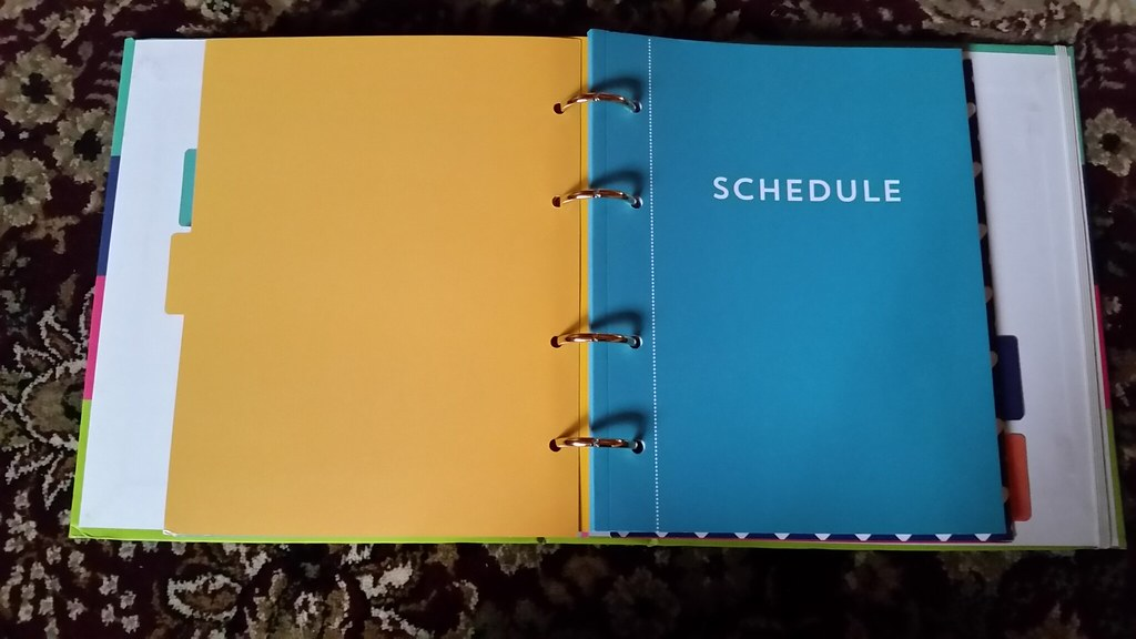 Recollections Planner Schedule Booklet anhistorianabouttown Flickr