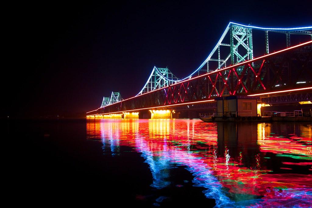 Wallpaper Korea 3d Sino Korean Friendship Bridge The Sino Korea Sino