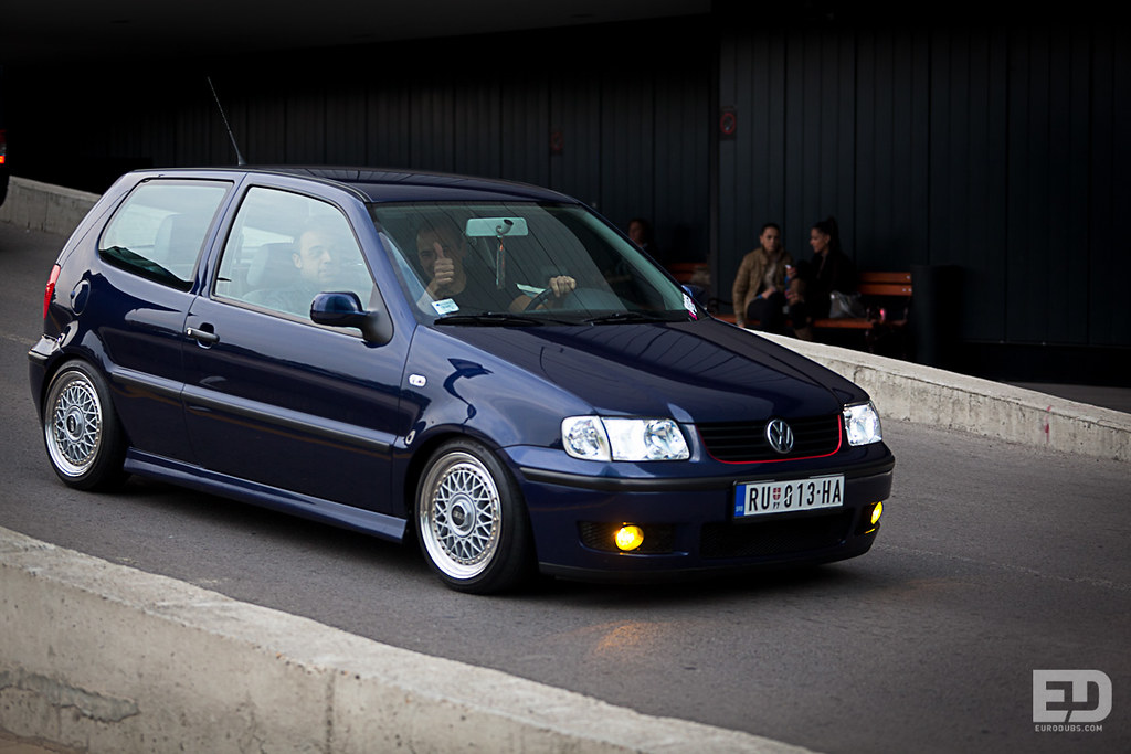 Black And Blue Wallpaper Igor S Vw Polo 6n2 Volkswagen Polo 6n2 On Bbs Rm By Igor