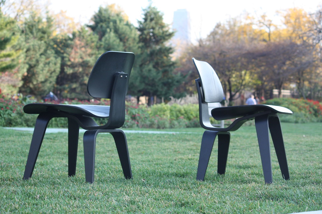 Impressive Eamesr Molded Plywood Lounge Chair Lcw Flickr
