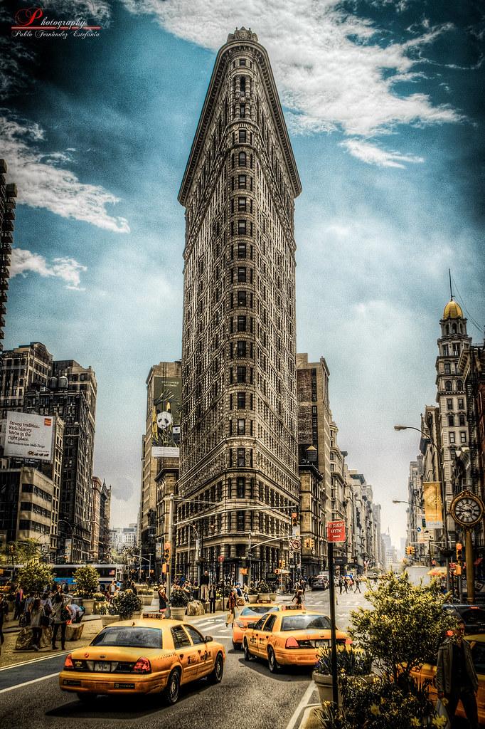 Storm City Wallpaper Hd 3d Flatiron Building Camara Camera Nikon D80 Objetivo