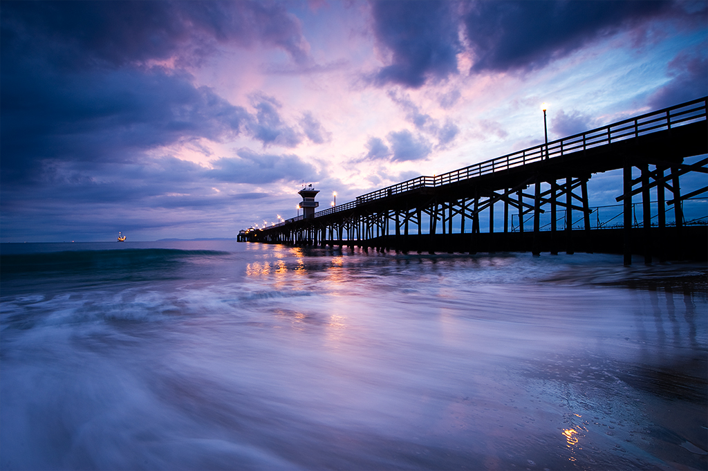3d Wallpaper Love You Sunset At The Seal Beach Pier Seal Beach It Has A Small