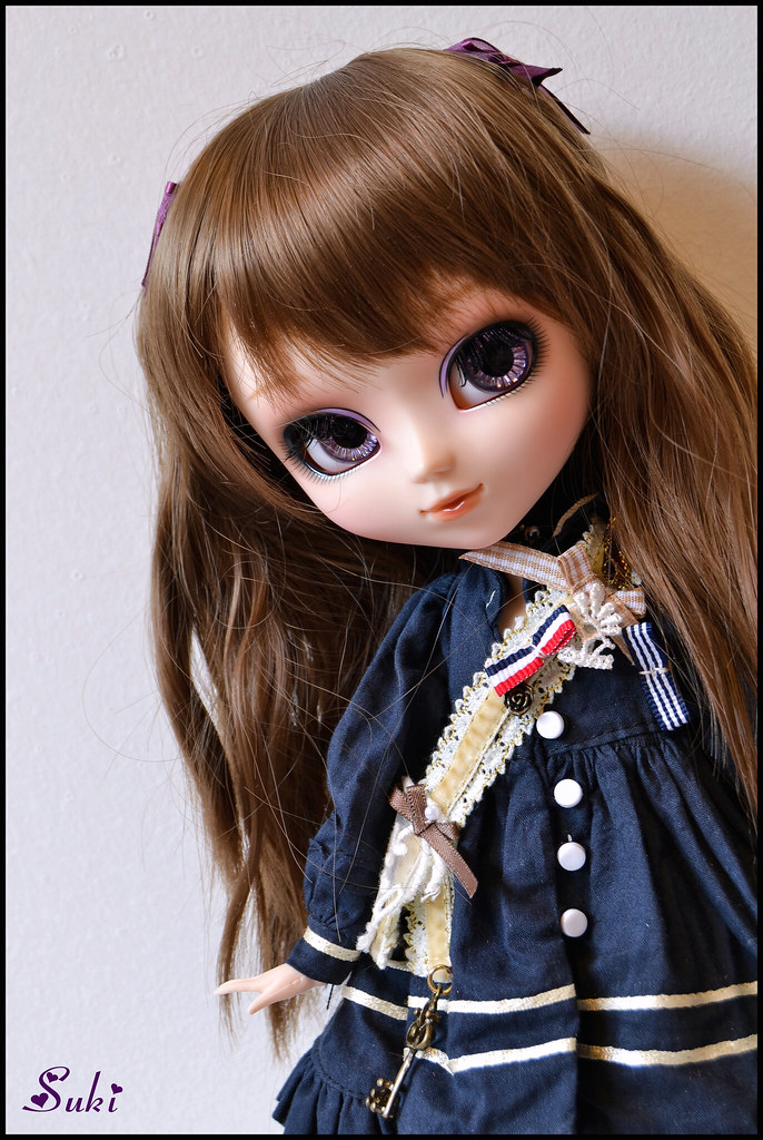 Thinking Girl Wallpaper Coralie Pullip Merl I M So Happy To Indroducing My New