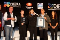 PUEBLA ROMPE EL RCORD GUINNESS AL ELEVAR MS DE 16 MIL GL ...