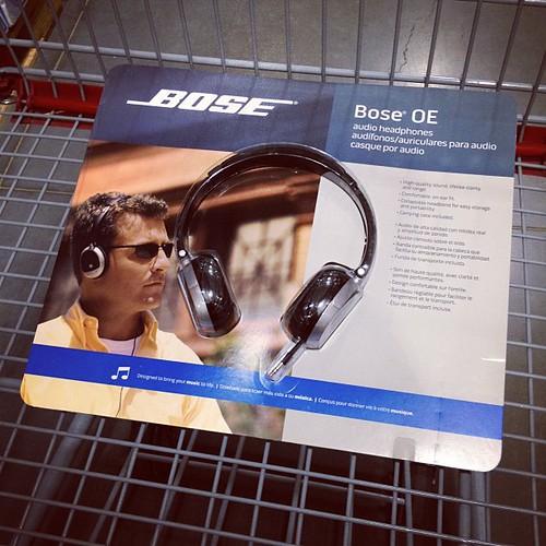 Bose On-Ear Headphones.