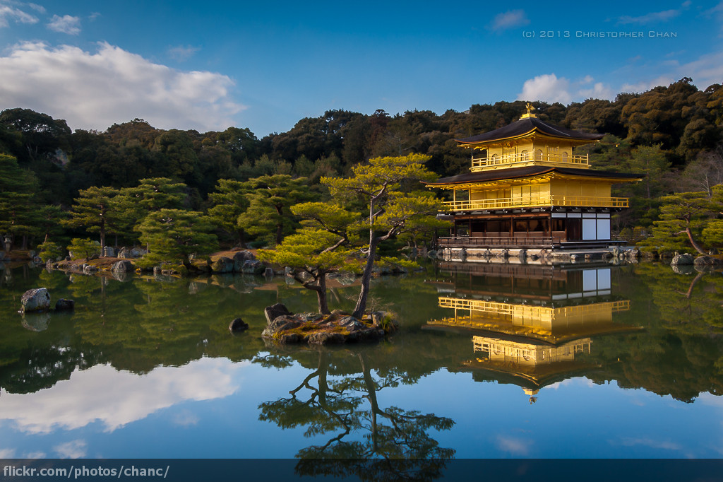 3d Wallpaper Windows 8 1 Kinkakuji Golden Pavilion Temple Kyoto Kinkaku Ji In