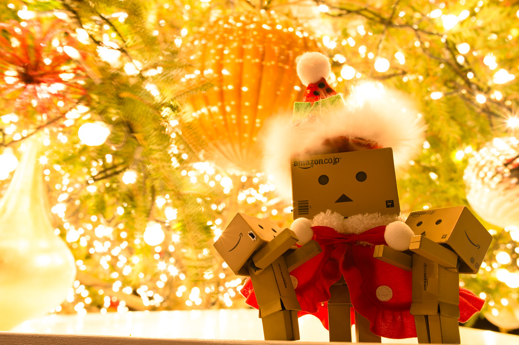 Free Wallpaper 3d Hd Danbo Santa Claus Child A I Was A Good Boy And I Want