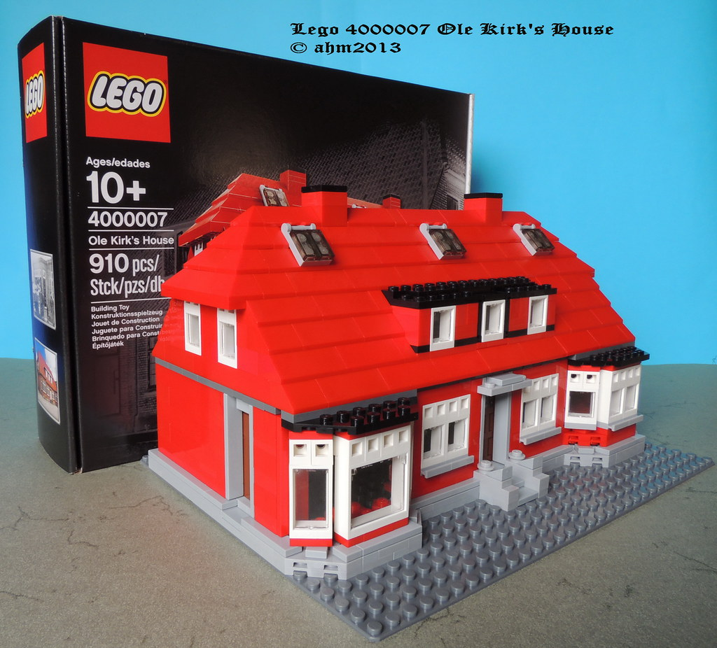 Free House Picture Lego 4000007 Ole Kirk's House | Lego 4000007 Ole Kirk's
