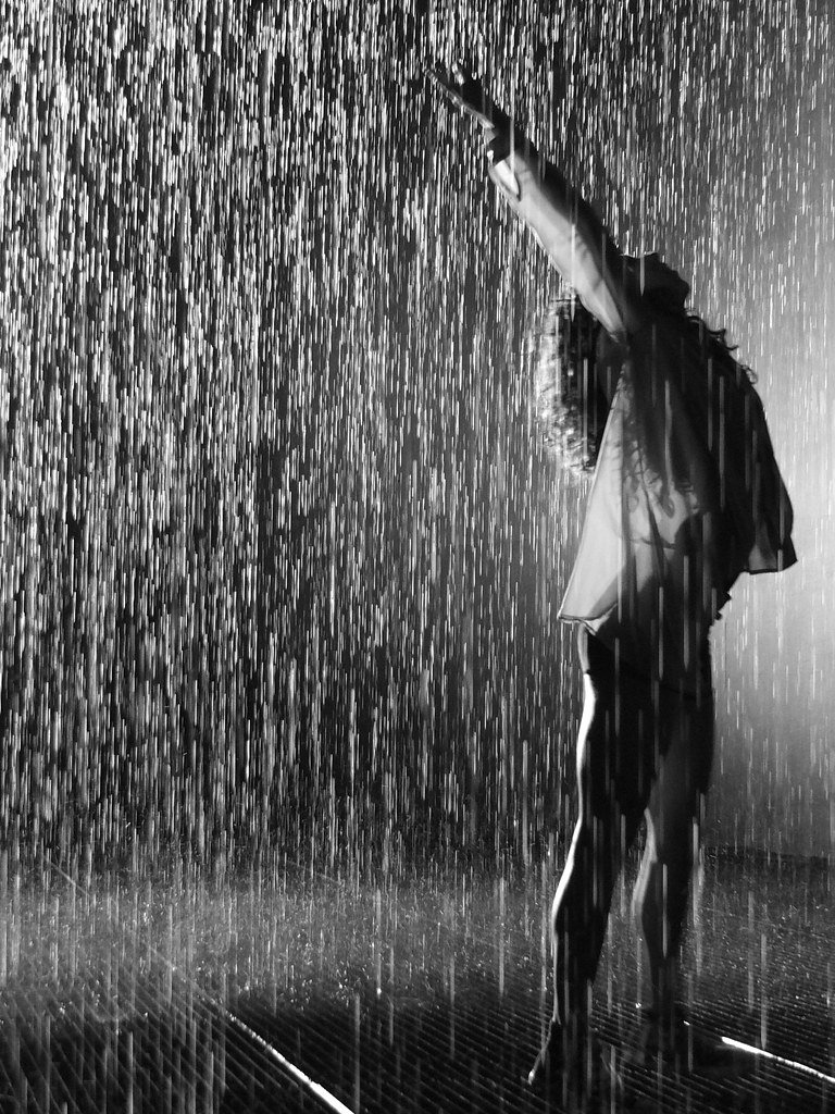 Banc Noir Dancing In The Rain | Rain Room, 2012 Created By Random