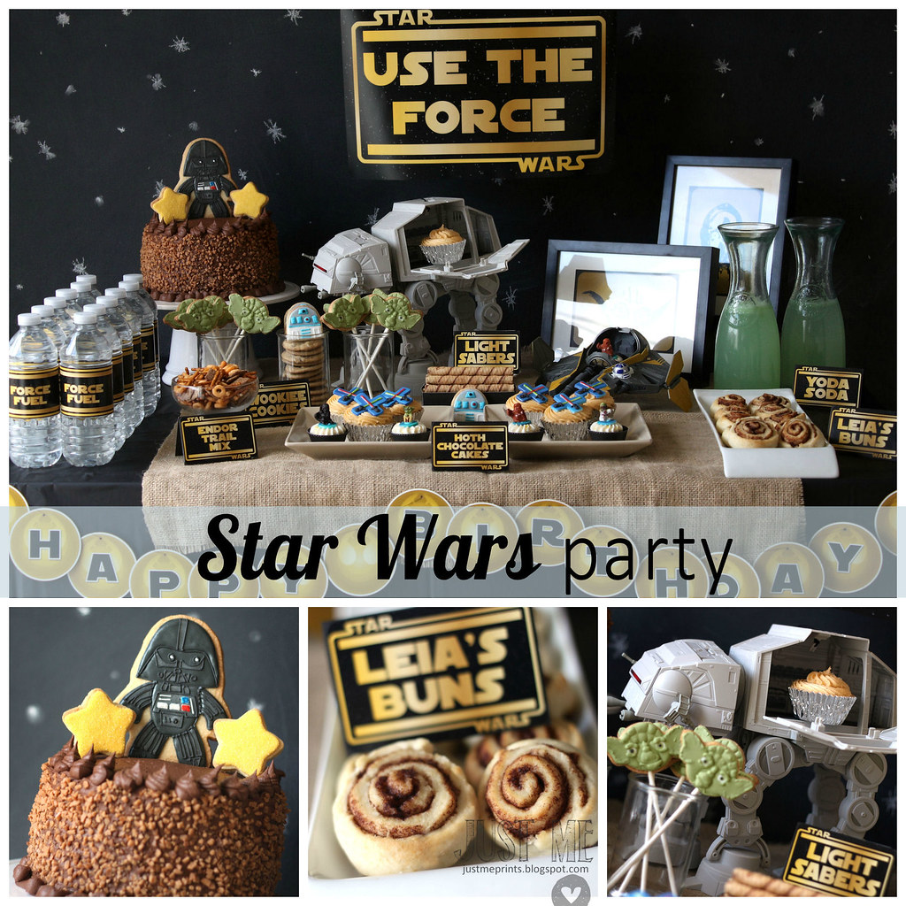 Star Wars Decorating Ideas Star Wars Birthday Party Sweets Courtesy Of Montreal