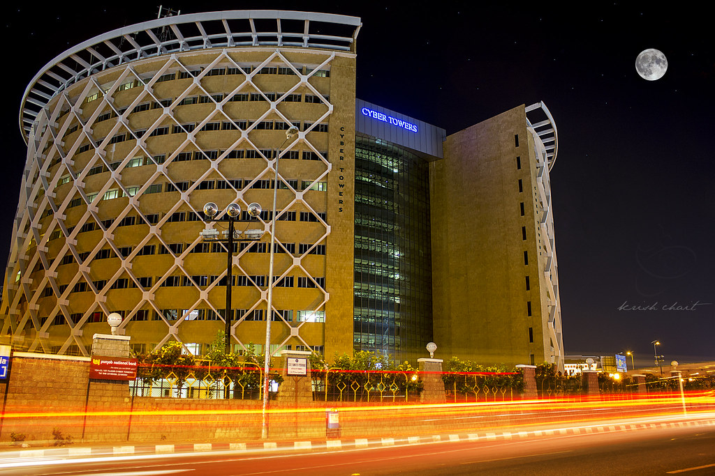Mumbai City Wallpaper Hd Cyber Towers Hyderabad Krish Chait Flickr