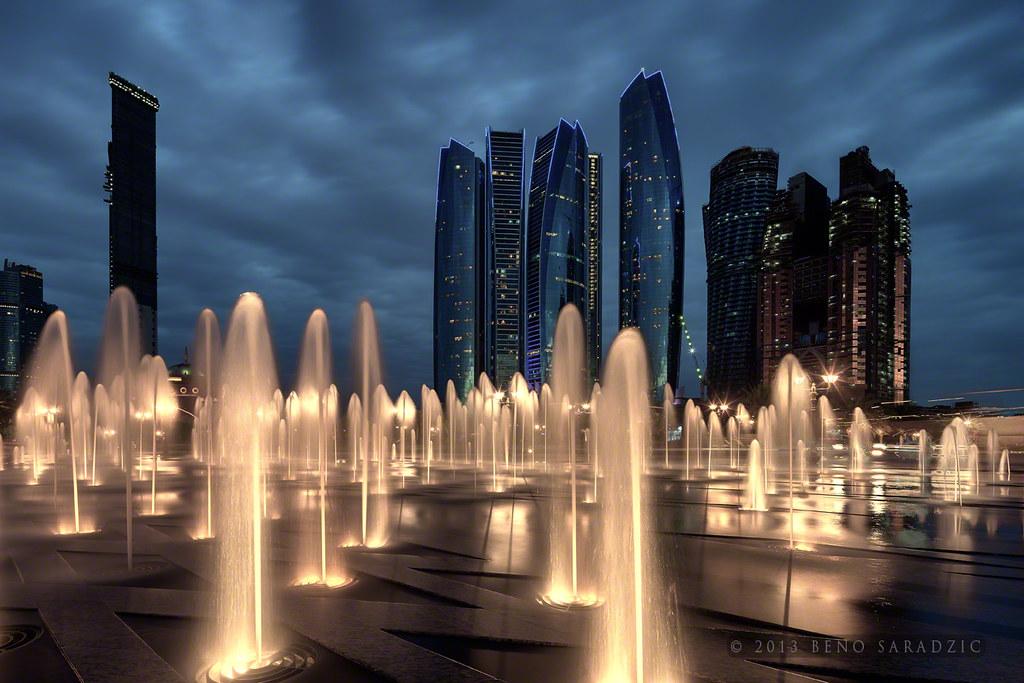 3d Palace Wallpaper Etihad Towers Etihad Towers In Abu Dhabi Rising Above
