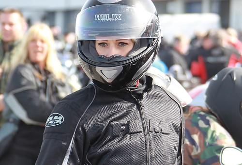 Cafe Racer Girl Wallpaper Motorcycle Woman Wearing Helmet Anja Schmidt Flickr