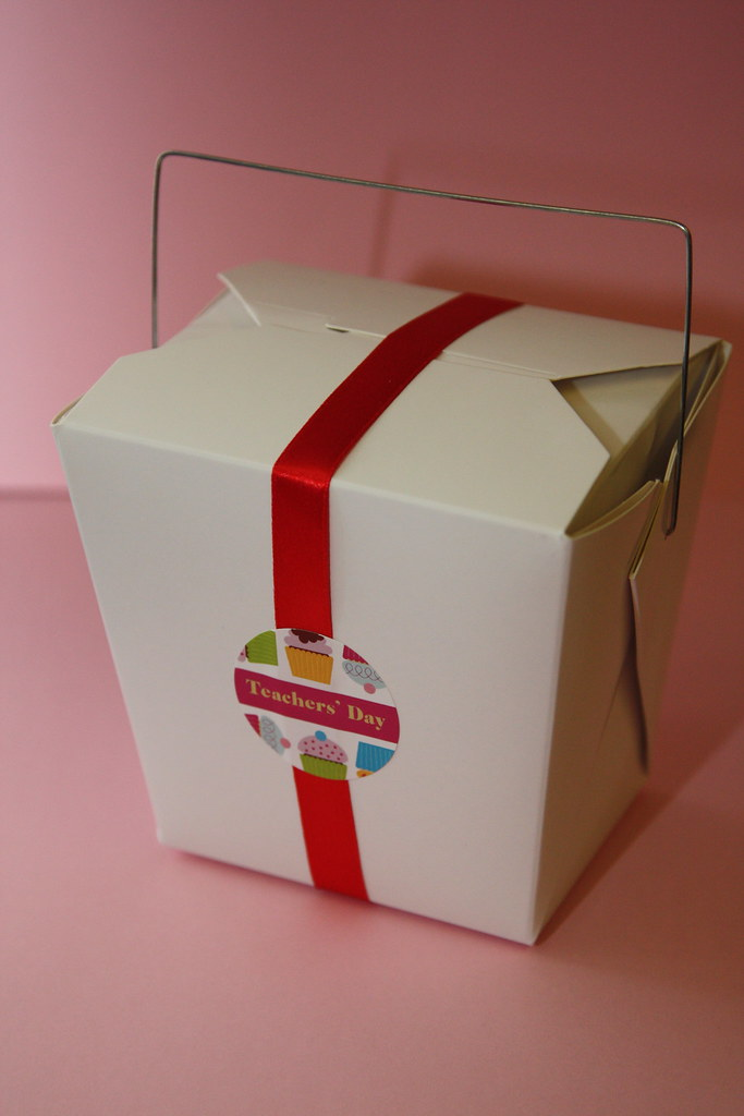 Chinese Takeaway Box Gift Pack Just Nice To Put A Bag Of