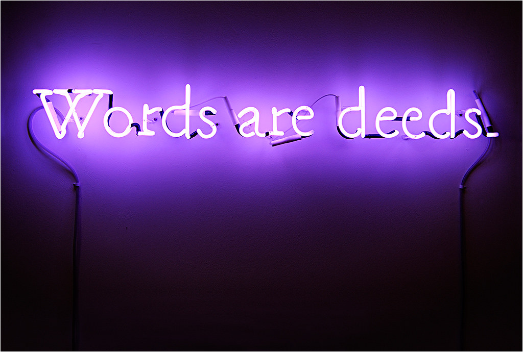 Desktop Wallpaper Wild And Free Quote Words Are Deeds Quot Words Are Deeds Quot Joseph Kosuth Quot Who