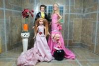 fashion ken doll is wearing a wedding ken (groom suit) BAr ...
