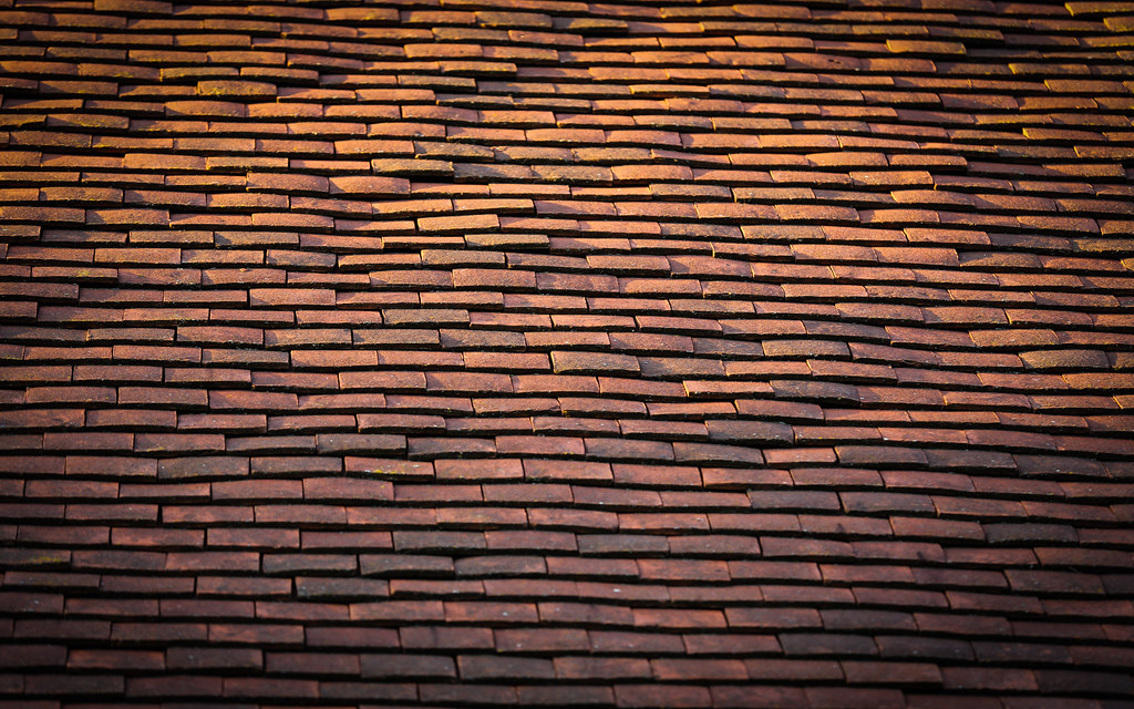 New 3d Wallpaper Roof Tiles Of St Andrews Church The Roof Of St Andrews