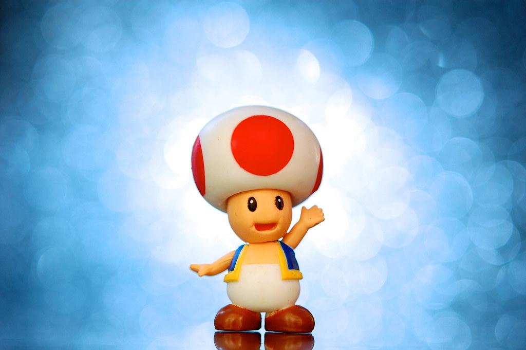 Mario 3d Wallpaper Super Blast Toad A 1 1 2 Inch Toad Figure From Nintendo