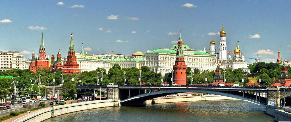 Arsenal Wallpaper 3d El Kremlin De Mosc 250 Rusia Vista Del Kremlin Desde Un