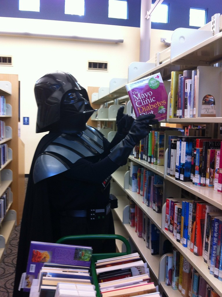 Darth Vader, Library Page asfrederick Flickr