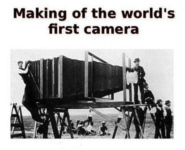 Worlds First Camera My Boy Mom How Huge Was The World