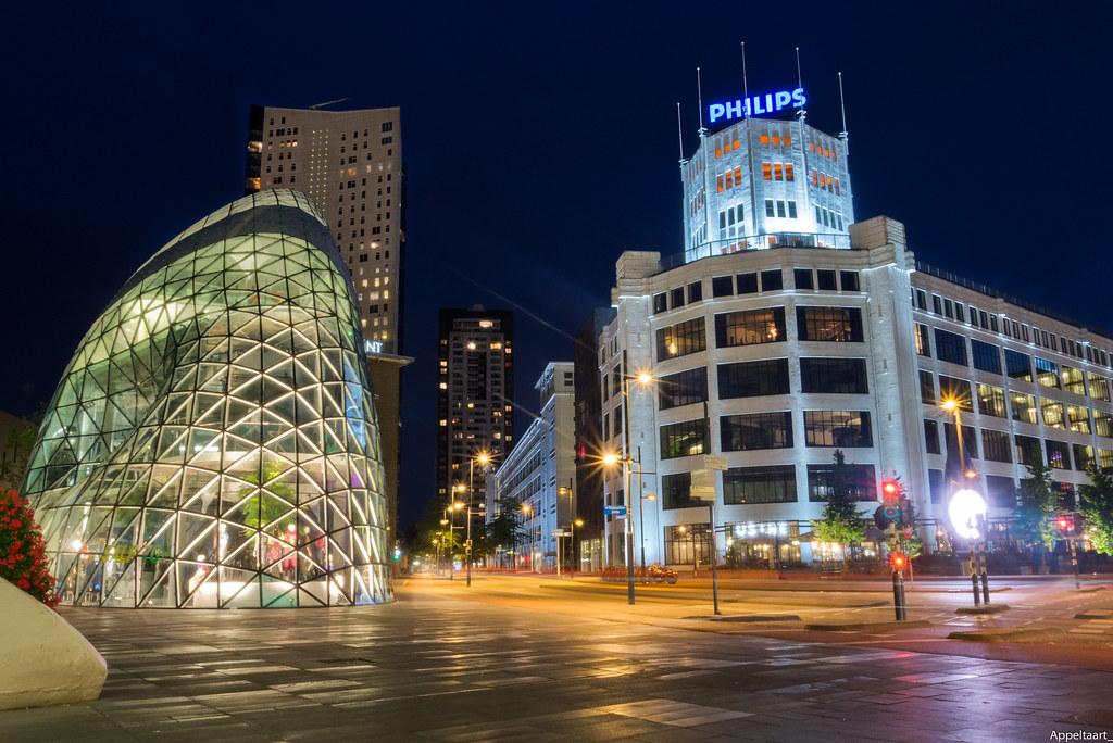 D Eindhoven By Night Thomas Van De Vosse Flickr