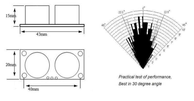 ultrasonic range finder circuit