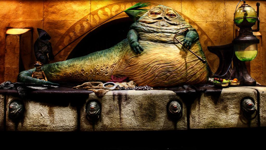 3d Wallpaper Star Wars Jabba The Hutt Taken At Star Wars Celebration Vi