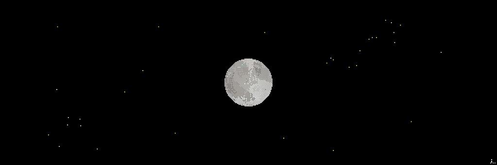 Night Sky 3d Wallpaper 121002 The Moon Www Behance Net Gallery Pixel Art 48 The