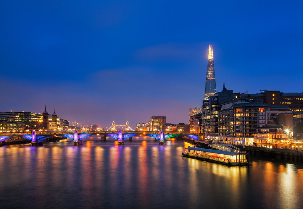 Fall In New England Wallpaper London Thames Twilight This Is Part Of A Year Long