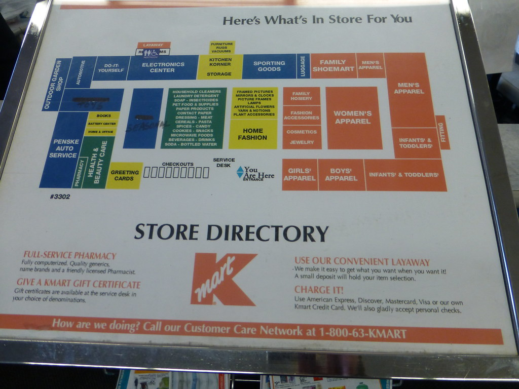 Kmart World Map Kmart On Alexis Road In Toledo Ohio Directory