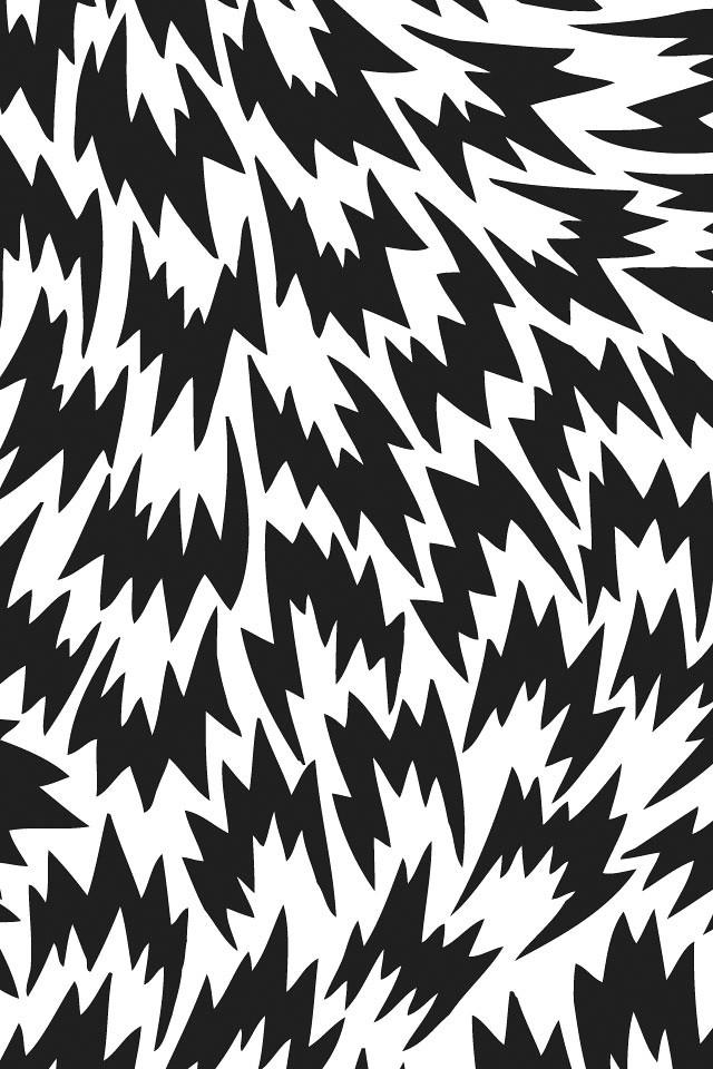 Black And White Geometric Wallpaper Eley Kishimoto Black Incase Flickr