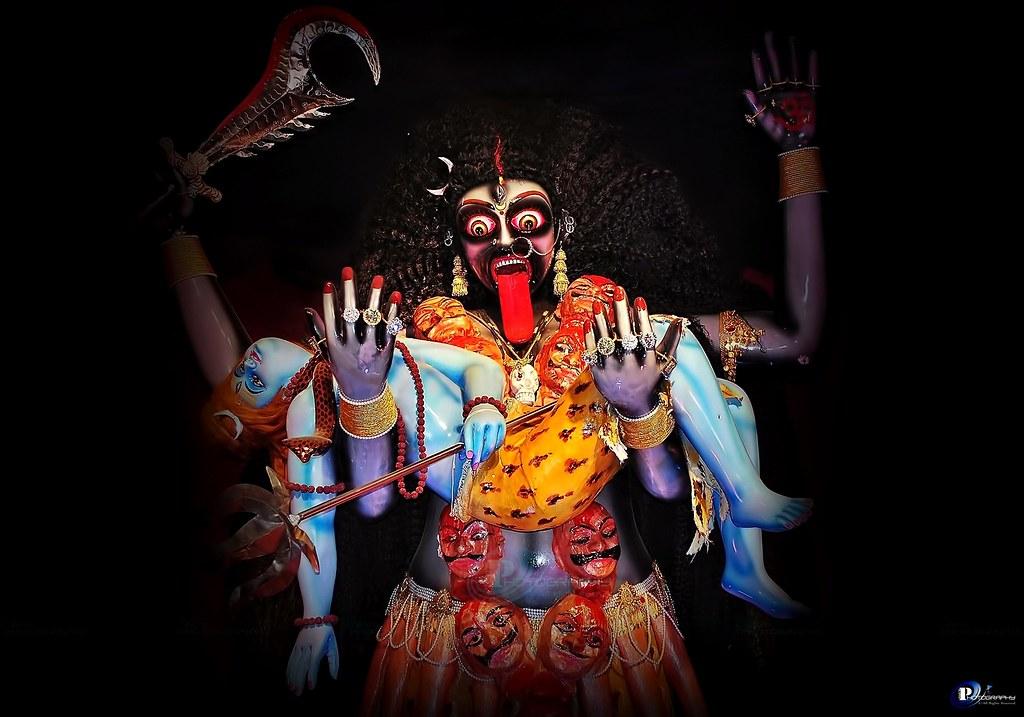 Lord Shiva Angry Wallpapers 3d Hd Maa Kali S Viraat Vikraal Krodhit Roop Holding Mahak