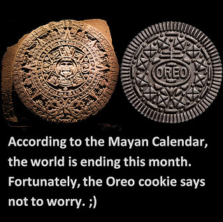 What Is The Mayan Calendar Yahoo Answers Aztec Calendar Vs Oreo Cookie According To The Mayan